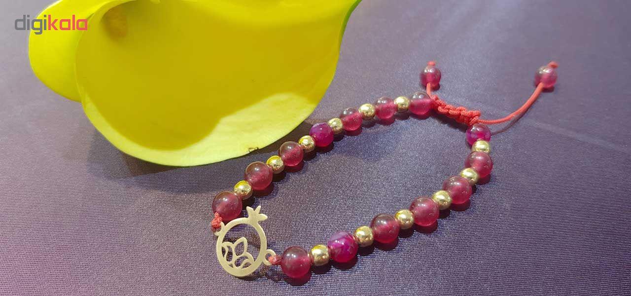 دستبند طلا  عیار نه کانیار گالری کد DMM2