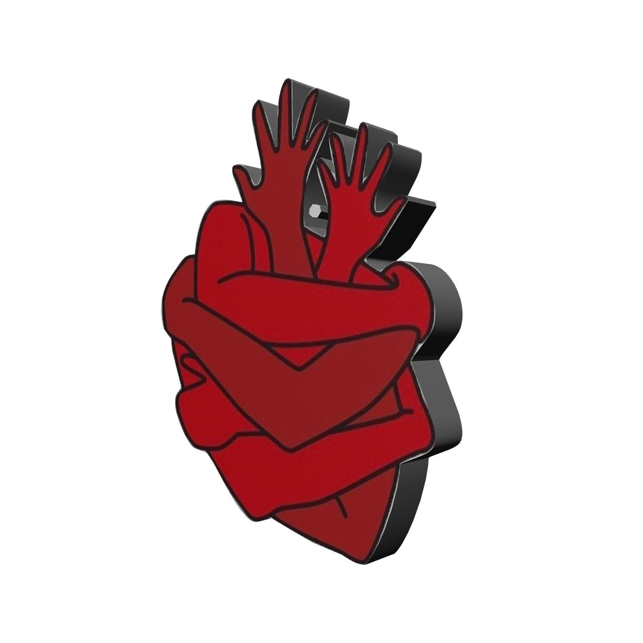 استیکر طرح قلب کد 228