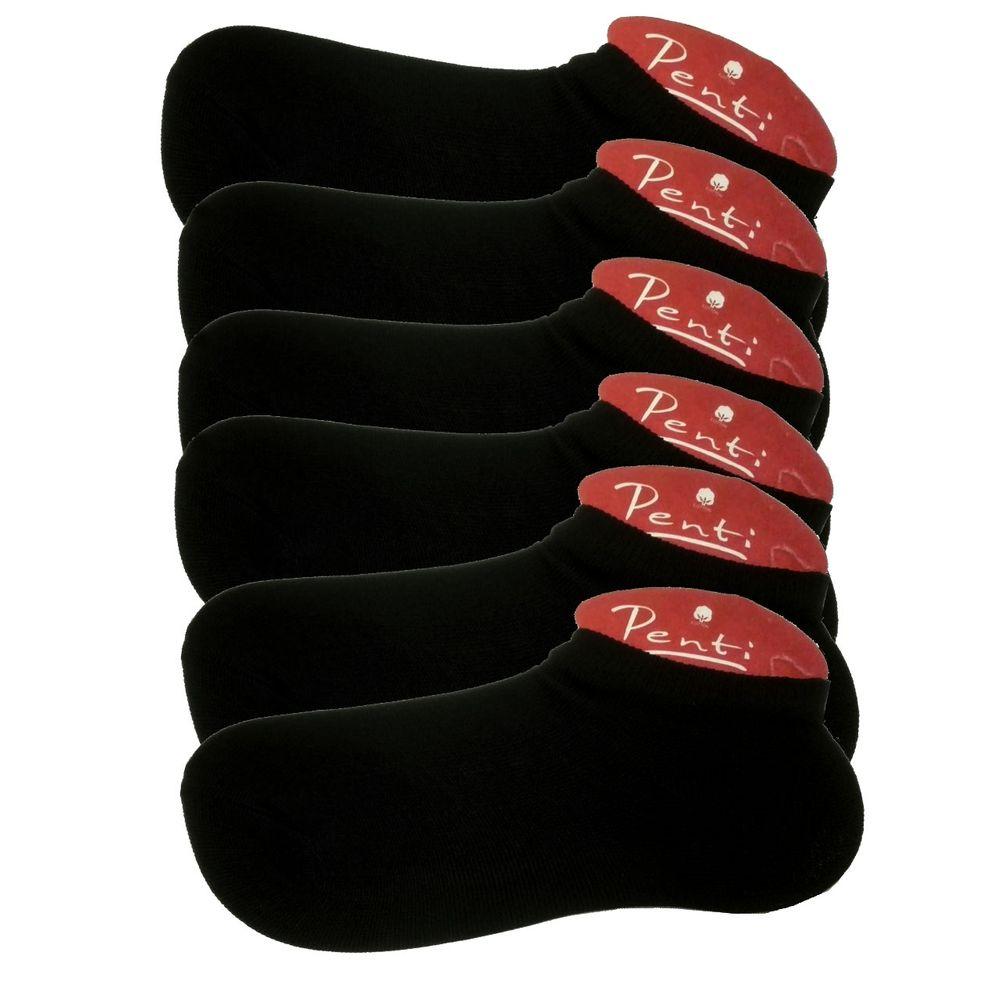 جوراب زنانه پنتی کد 901 بسته 6 عددی