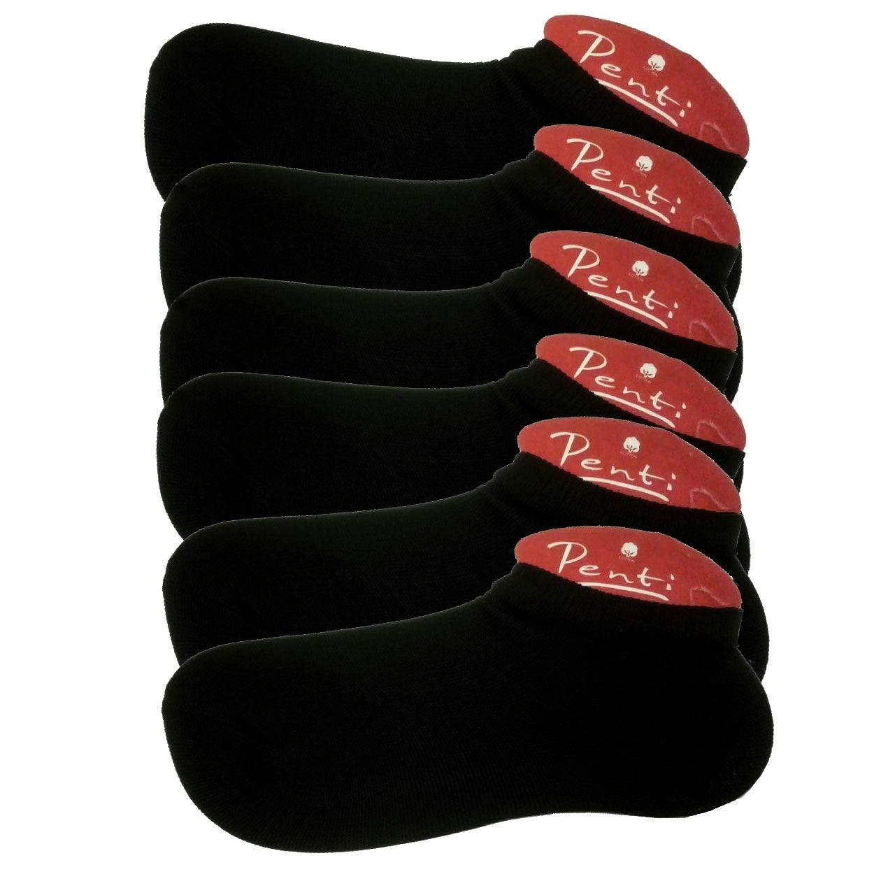 جوراب زنانه پنتی کد 901 بسته 6 عددی -  - 2