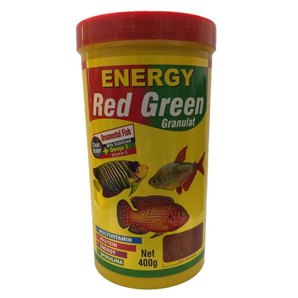 غذا ماهی انرژی مدل Red Green Granulat وزن 440 گرم
