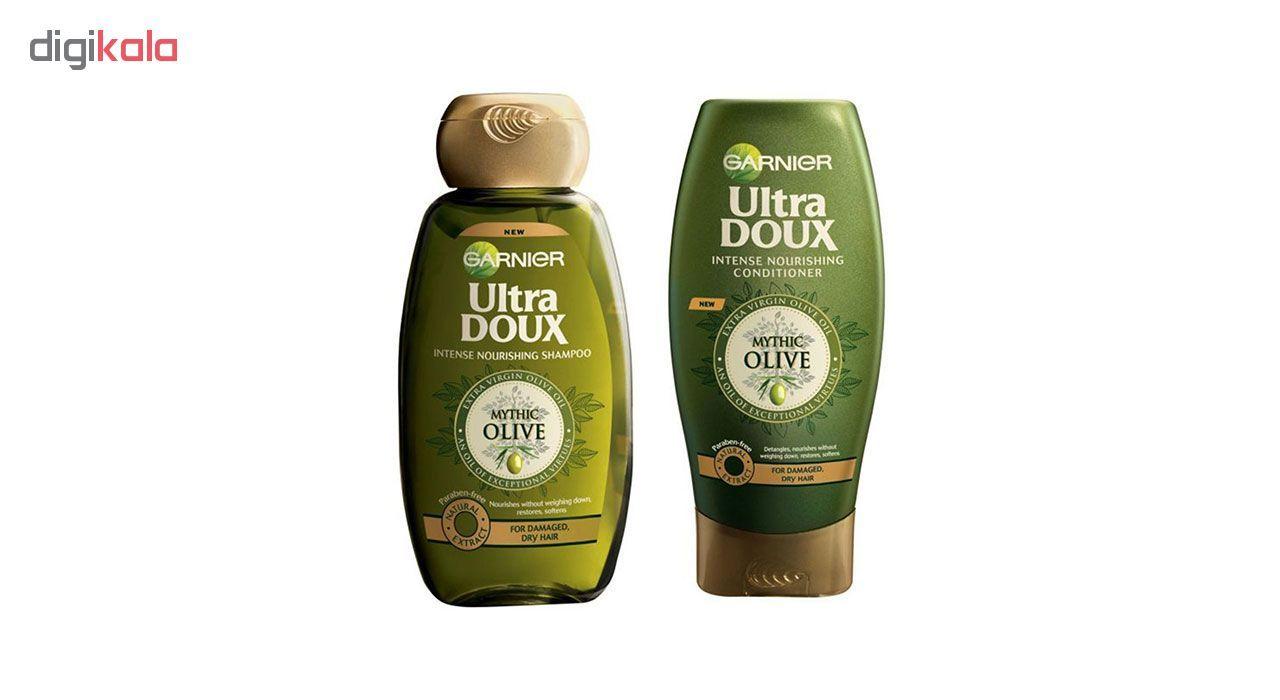شامپو و نرم کننده گارنیه سری Ultra Doux مدل Olive Oil main 1 1