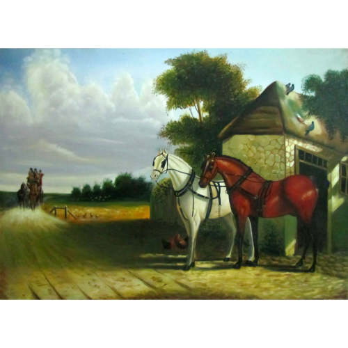 تابلو نقاشی طرح مزرعه کد01