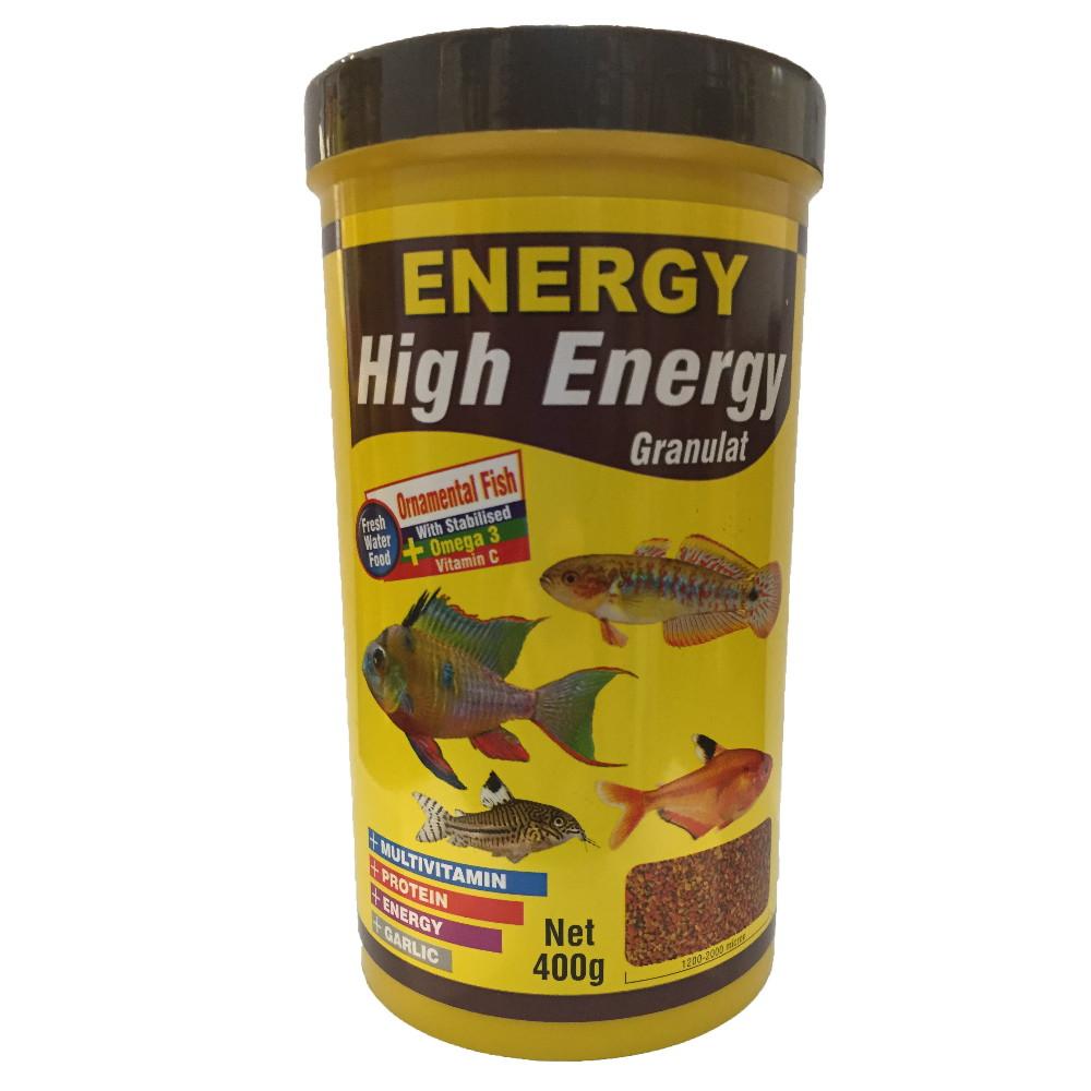 غذا ماهی انرژی مدل High Energy Granulat حجم 1000 میلی لیتر