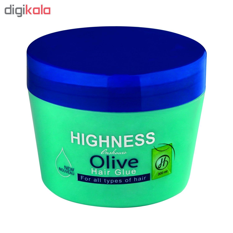 چسب مو انشور هاینس مدل Olive حجم 300 میلی لیتر