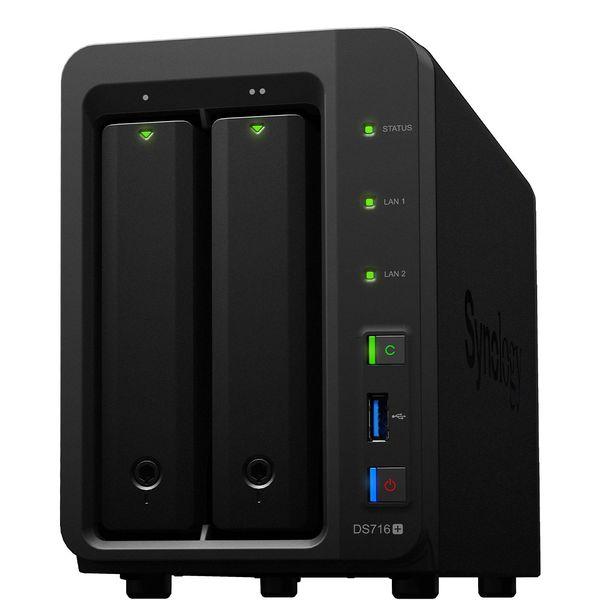 ذخیره ساز تحت شبکه سینولوژی مدل DiskStation DS716 Plus II