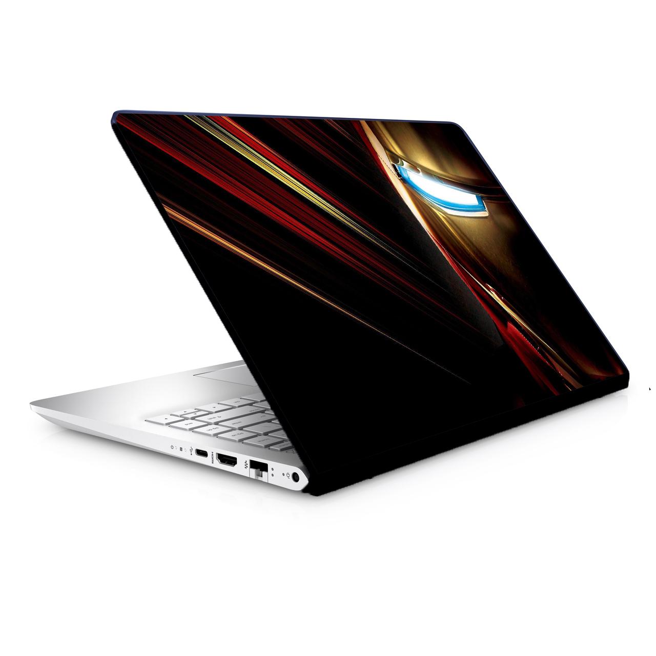 استیکر لپ تاپ طرح ایرون من مدل TIE008 مناسب برای لپ تاپ 15.6 اینچ