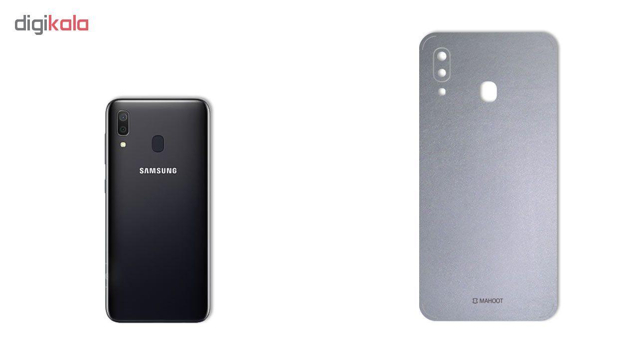 برچسب پوششی ماهوت مدل Black-Color-Shades مناسب برای گوشی موبایل سامسونگ Galaxy A30 main 1 1