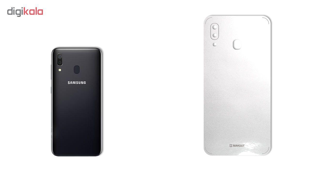 برچسب پوششی ماهوت مدل Black-Color-Shades مناسب برای گوشی موبایل سامسونگ Galaxy A30 main 1 2