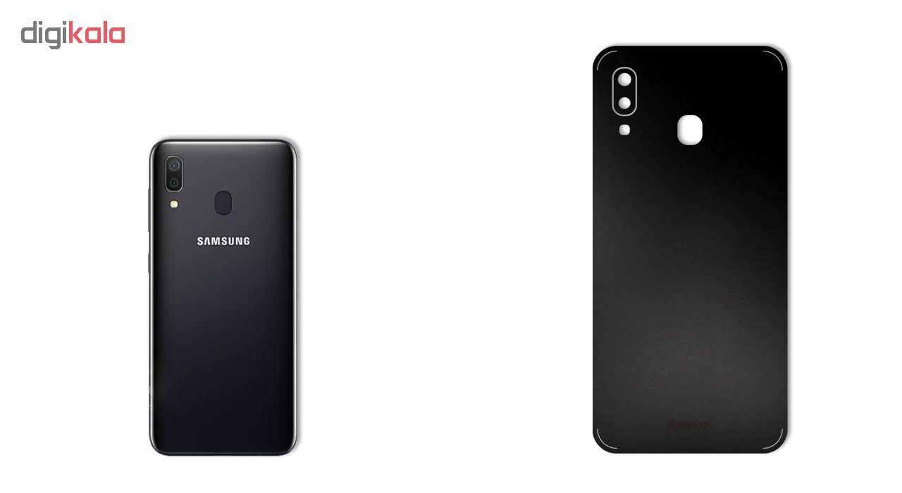 برچسب پوششی ماهوت مدل Black-Color-Shades مناسب برای گوشی موبایل سامسونگ Galaxy A30 main 1 3