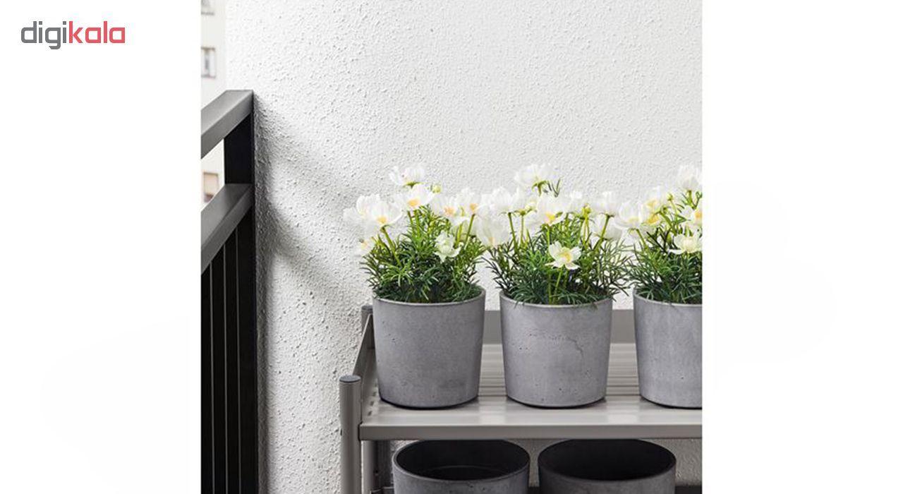 گلدان به همراه گل مصنوعی ایکیا مدل Fejka 20419558 main 1 2