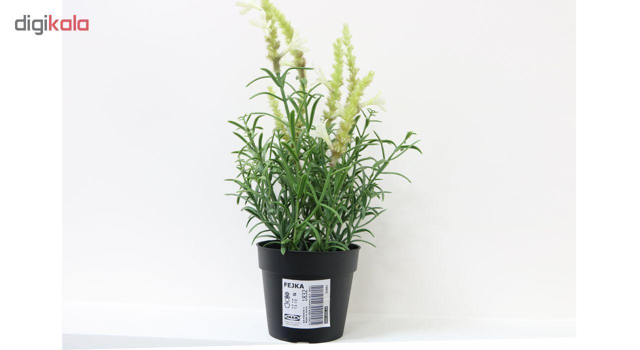 گلدان به همراه گل مصنوعی ایکیا مدل Fejka 80429516 main 1 4