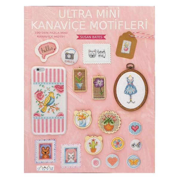 مجله  Ultra mini kanavice motifleri کد 6410