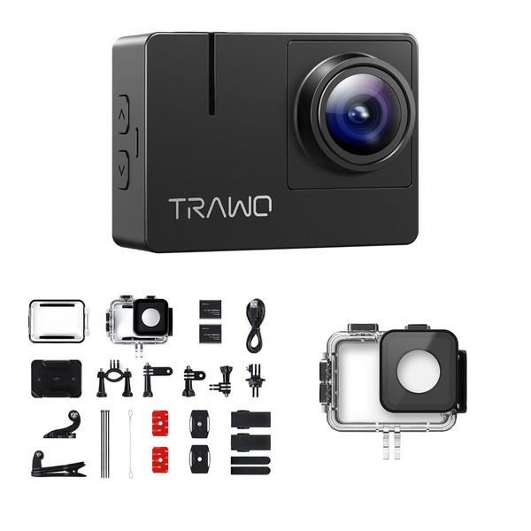 دوربین فیلم برداری ورزشی اپمن مدل Trawo به همراه لوازم جانبی