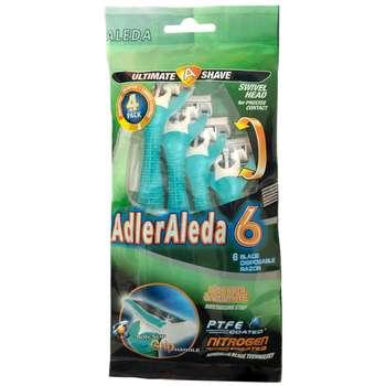 خودتراش آلدا مدل AdlerAleda 6-1 بسته ۴ عددی