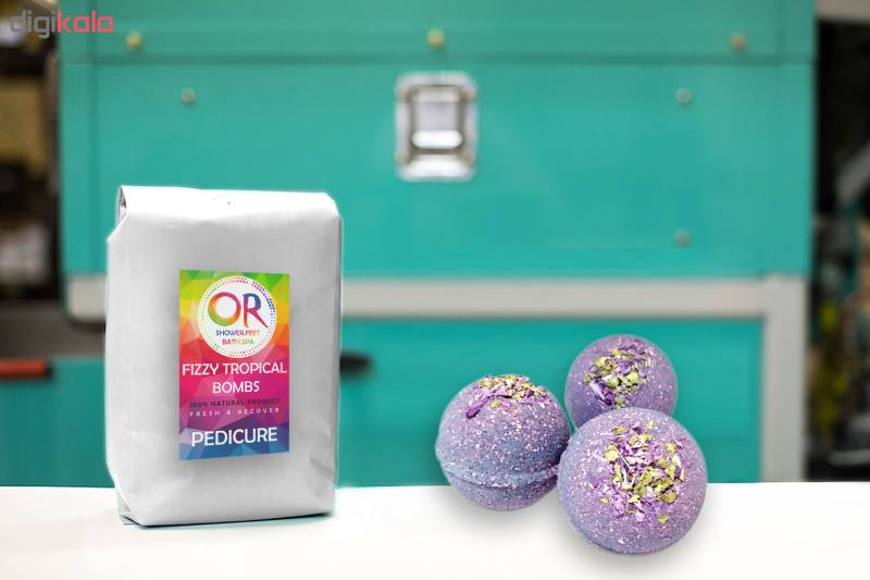 کوکتل نمک حمام اور مدل Lavender وزن 300 گرم بسته 3 عددی