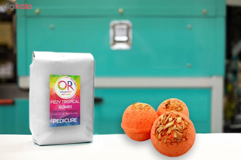 کوکتل نمک حمام اور مدل Orange وزن 300 گرم بسته 3 عددی