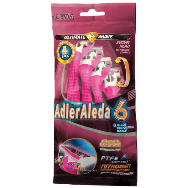 خودتراش آلدا مدل AdlerAleda 6 بسته ۴ عددی