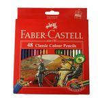 مداد رنگی 48 رنگ فابر-کاستل مدل Classic 858 thumb