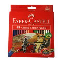 مداد رنگی 48 رنگ فابر-کاستل مدل Classic 858