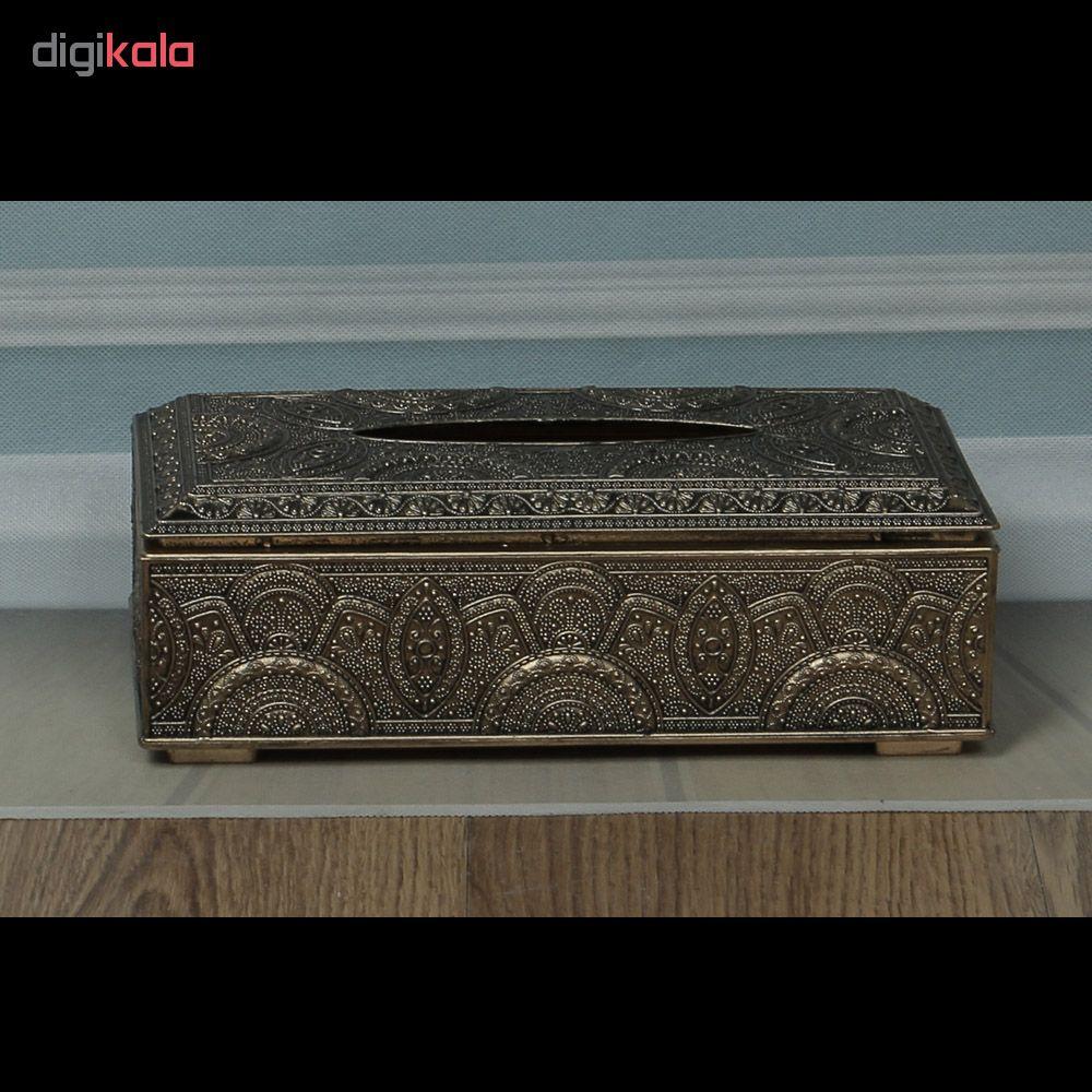جعبه دستمال کاغذی کد 12210