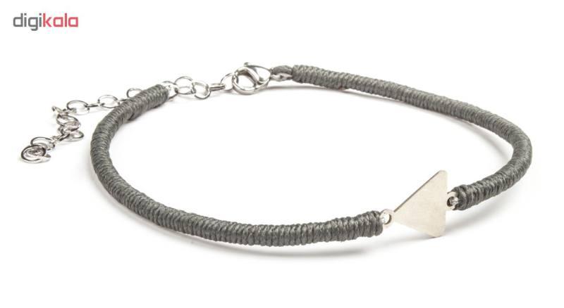 پابند نقره زنانه ریسه گالری مدل Ri3-H2030-Silver