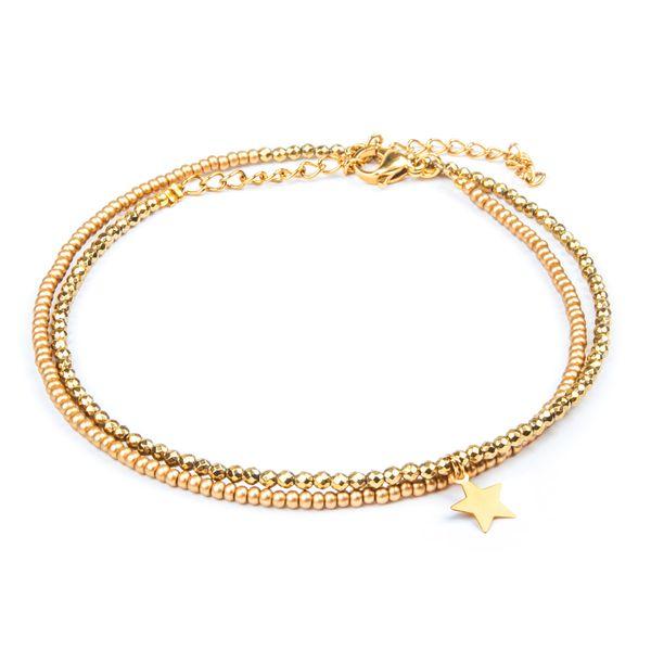 پابند طلا 18 عیار زنانه ریسه گالری مدل Ri3-H2026