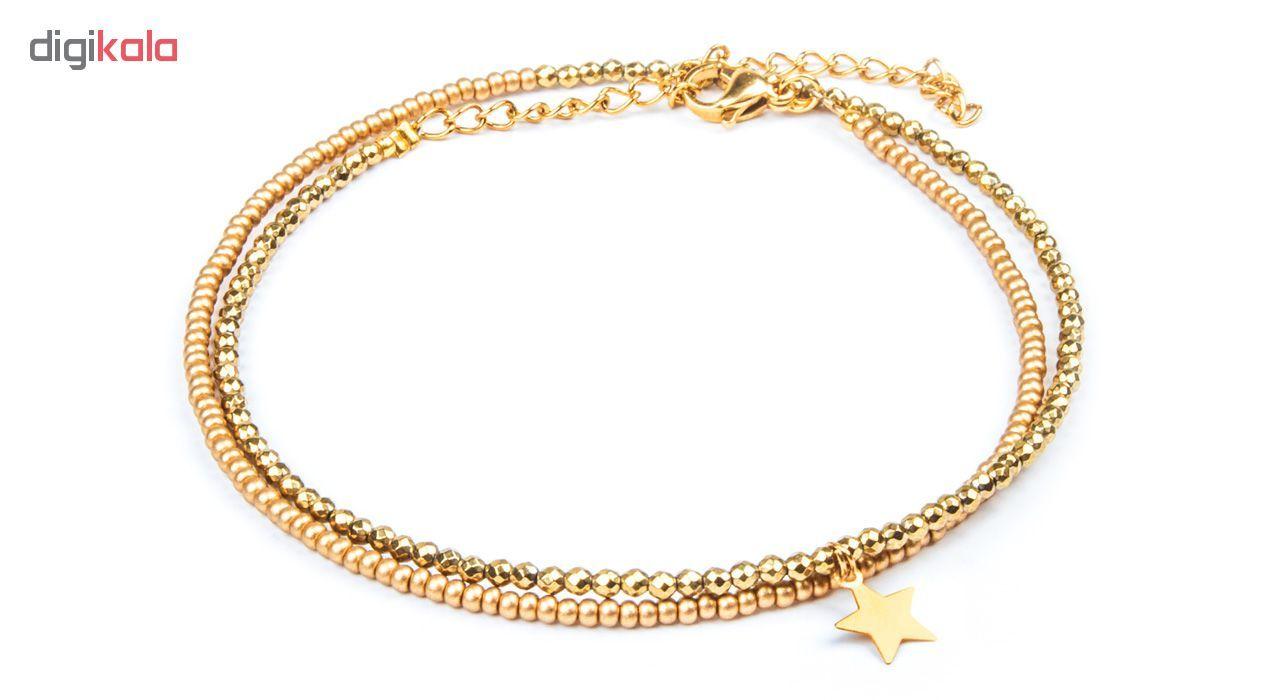 پابند طلا 18 عیار زنانه ریسه گالری مدل Ri3-H2026 main 1 1