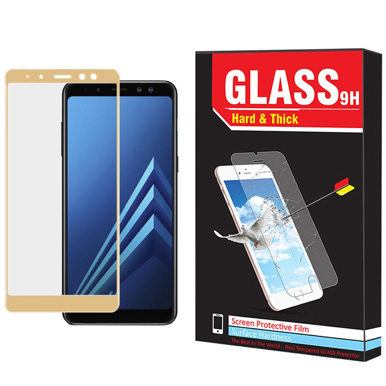 محافظ صفحه نمایش hard and thick مدل F-001 مناسب برای گوشی موبایل سامسونگ Galaxy A6 2018