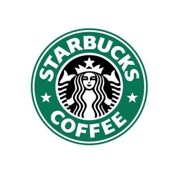 استیکر لپ تاپ طرح Starbucks کد 367