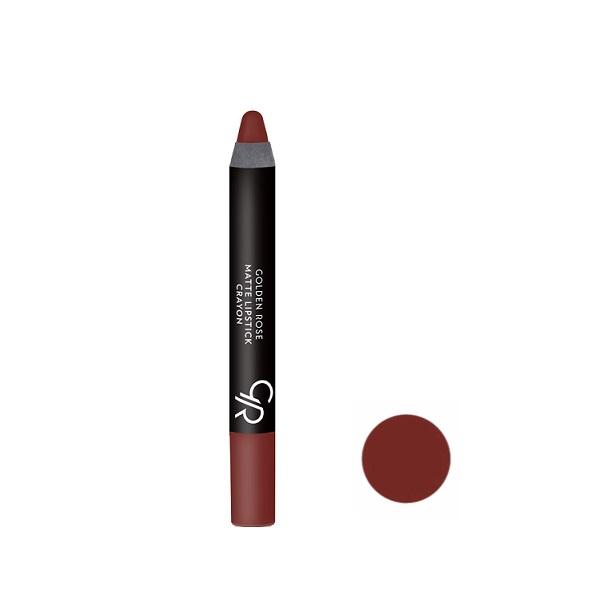 رژلب مدادی گلدن رز مدل Crayon شماره 01