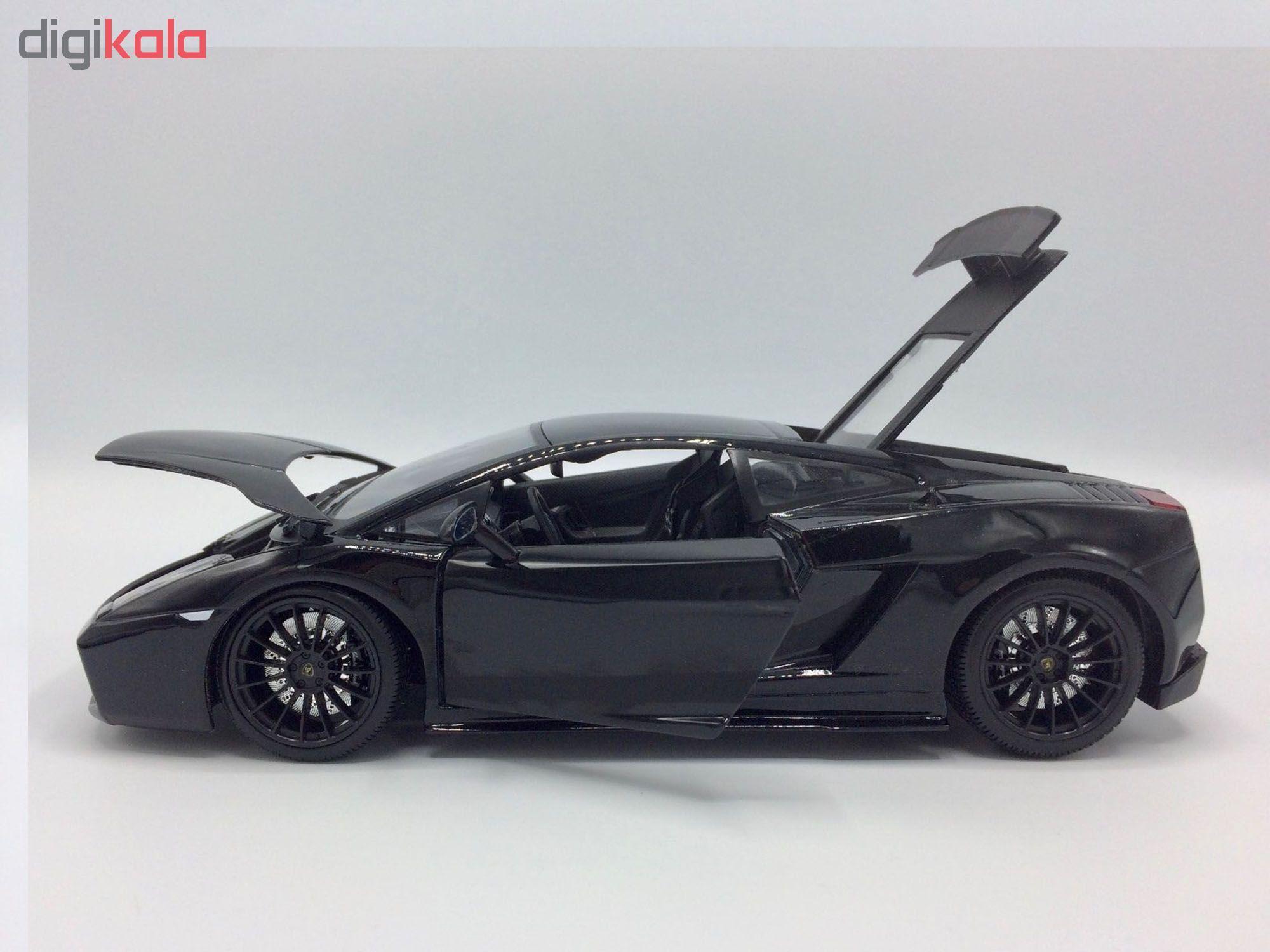 ماشین بازی مایستو مدل لامبورگینی Gallardo Superleggera