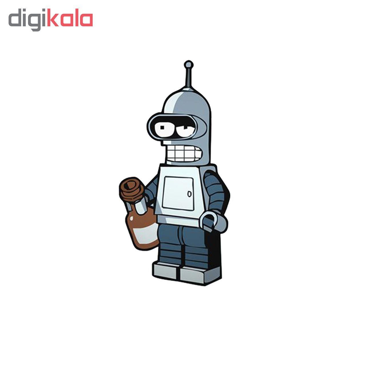 استیکر لپ تاپ طرح ربات کد 447 main 1 1