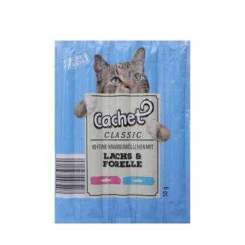 اسنک تشویقی گربه کچت مدل Lachs And Forelle بسته 5 عددی