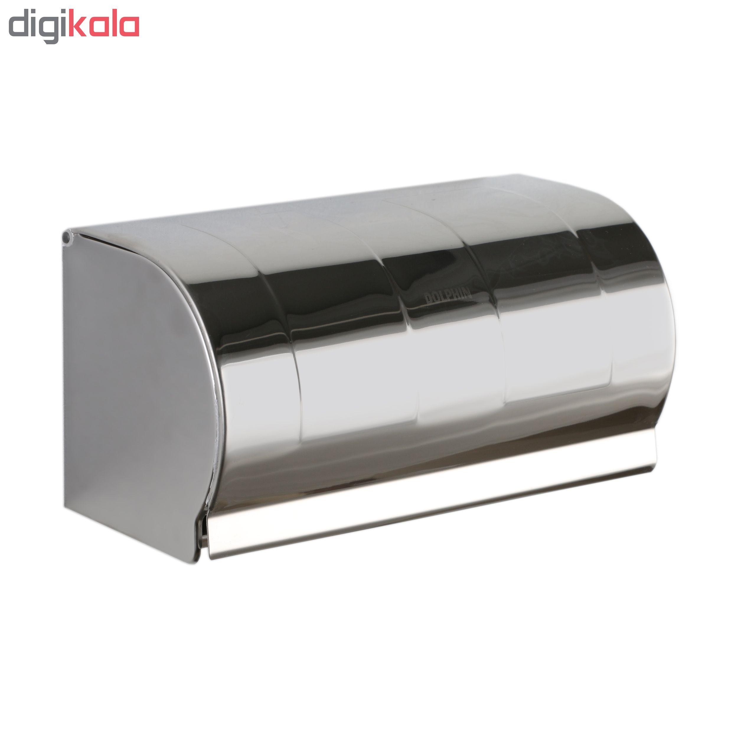 پایه رول دستمال کاغذی دلفین مدل K18-C main 1 1