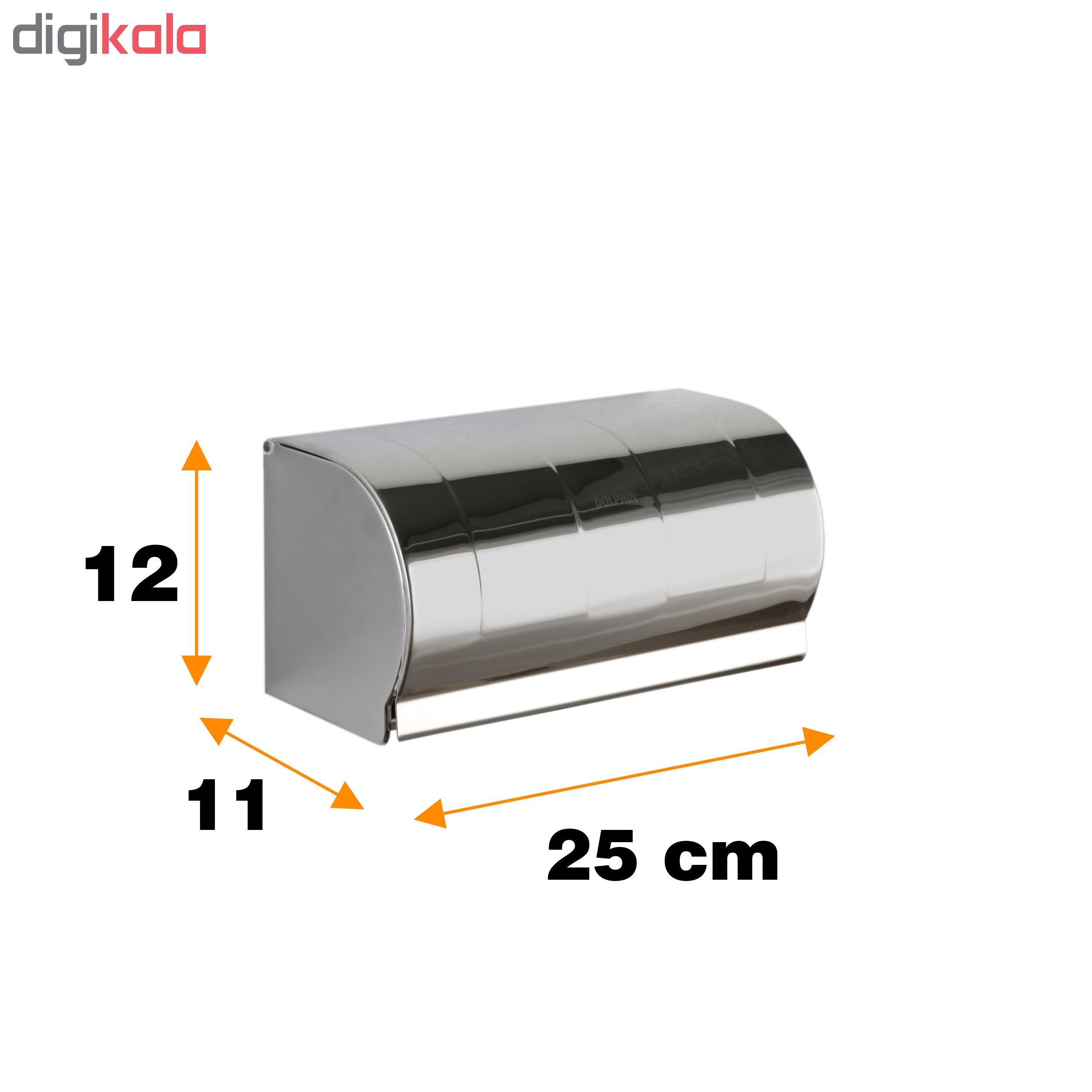 پایه رول دستمال کاغذی دلفین مدل K18-C main 1 2