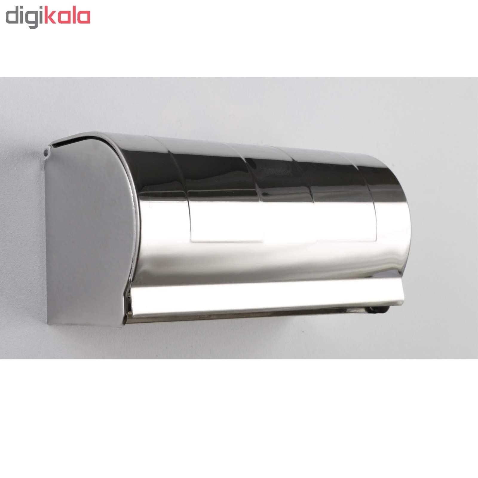 پایه رول دستمال کاغذی دلفین مدل K18-C main 1 3