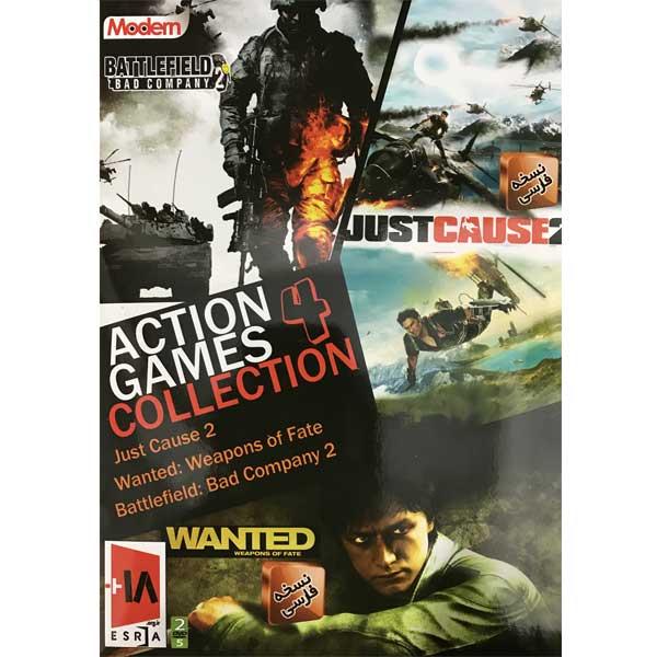 خرید اینترنتی بازی action games collection4 نشر مدرن مخصوص pc اورجینال