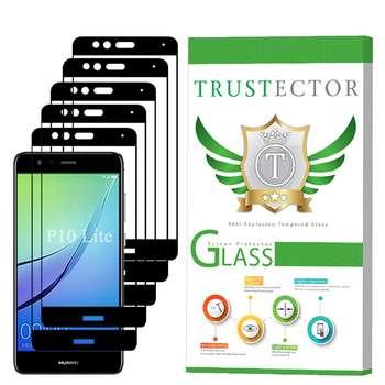 محافظ صفحه نمایش تراستکتور مدل GSS مناسب برای گوشی موبایل هوآوی P10 Lite بسته 5 عددی
