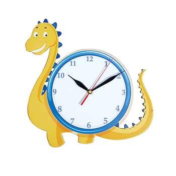 ساعت دیواری اتاق کودک طرح دایناسور