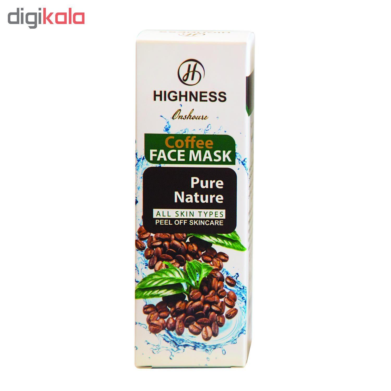ماسک صورت انشور هاینس مدل Coffee حجم 120 میلی لیتر main 1 1