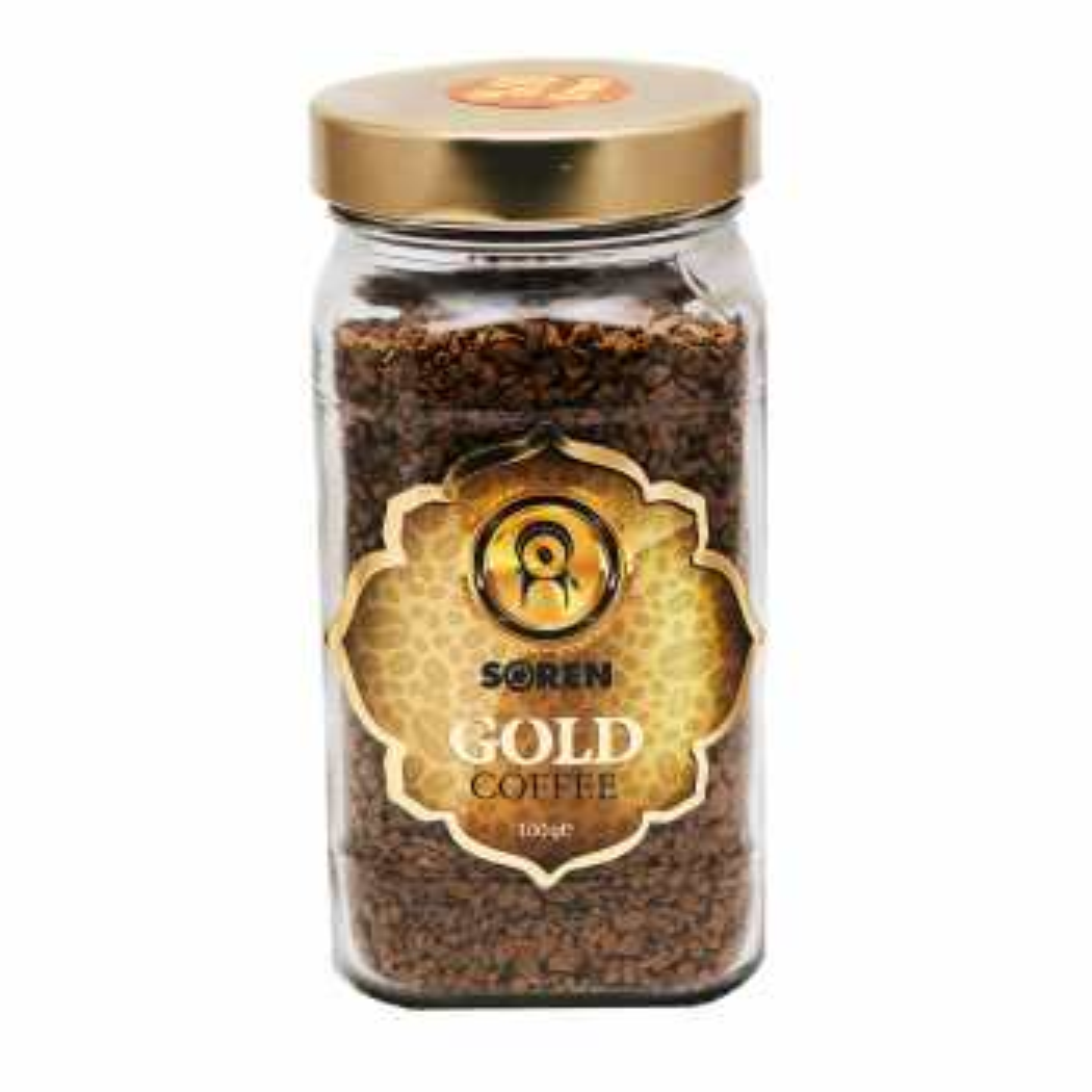 قهوه فوری گلد سورن کافی کد 4354004 مقدار 110 گرم