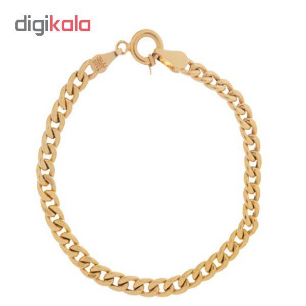 دستبند طلا 18 عیار زنانه گالری گیرا مدل 5740