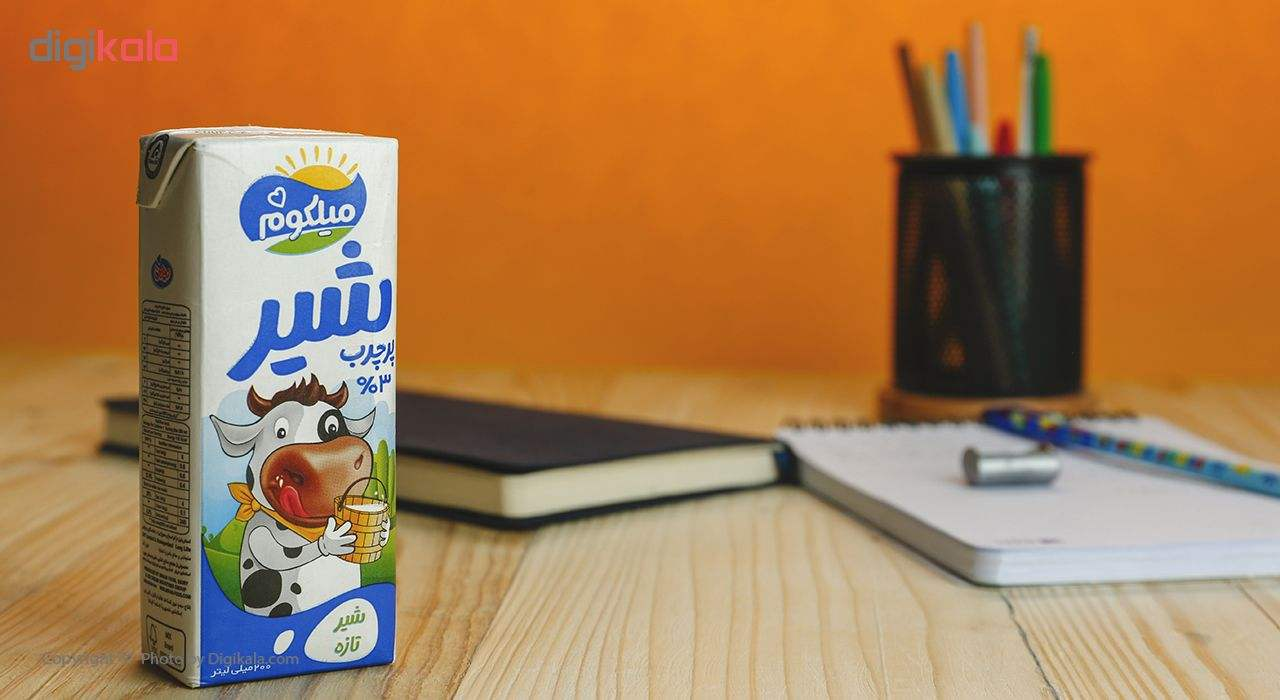 شیر پر چرب میهن مدل میلکوم حجم 200 میلی لیتر main 1 1