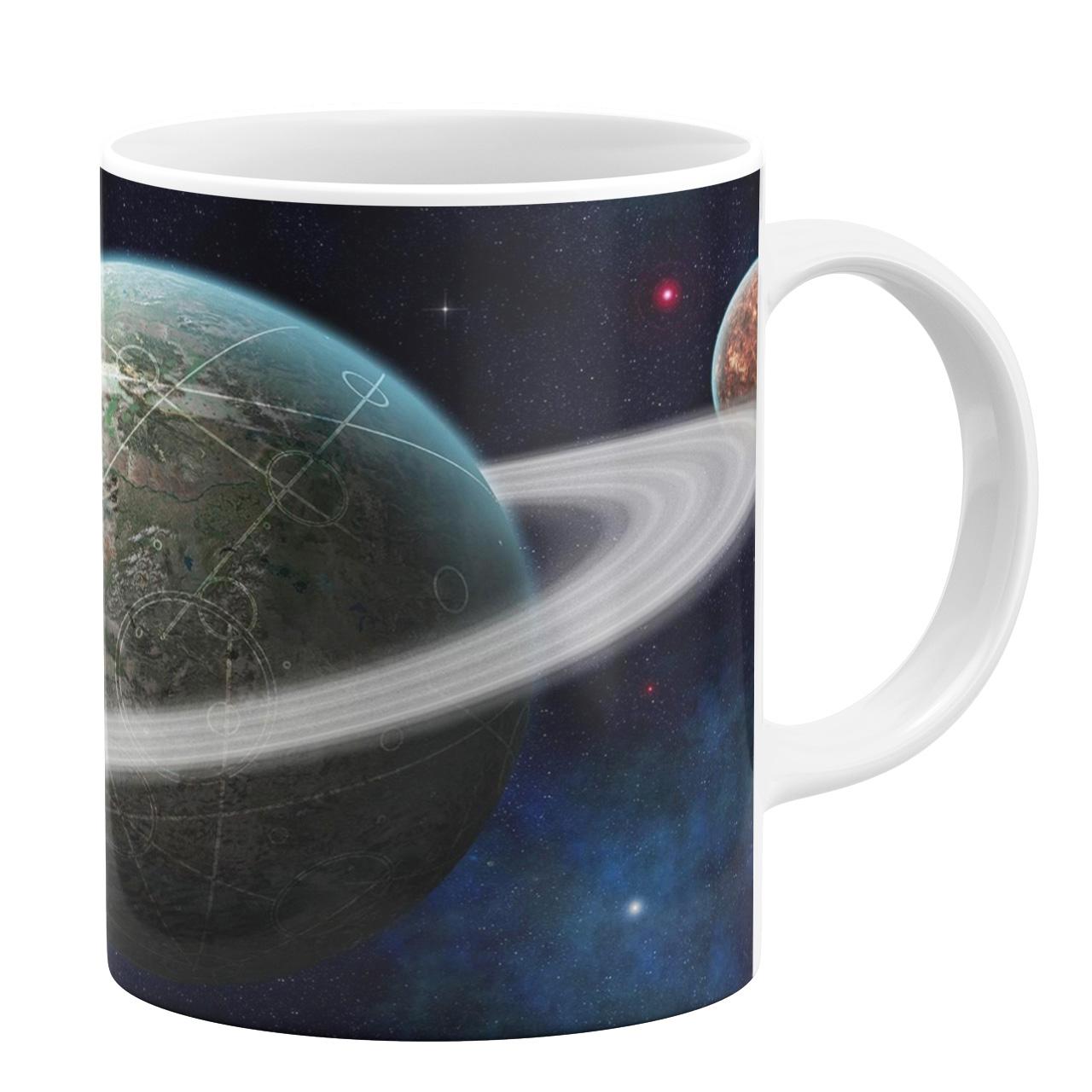 ماگ طرح سیاره کد 1105348