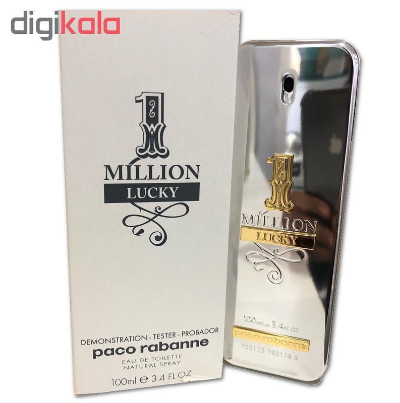 تستر ادو تویلت مردانه پاکو رابان مدل 1Million Lucky حجم 100 میلی لیتر