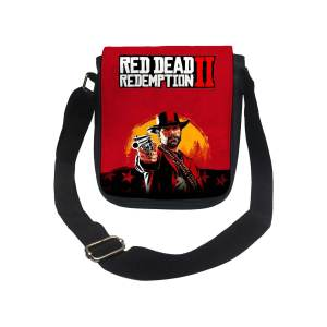 کیف دوشی پسرانه طرح Red dead کد k195