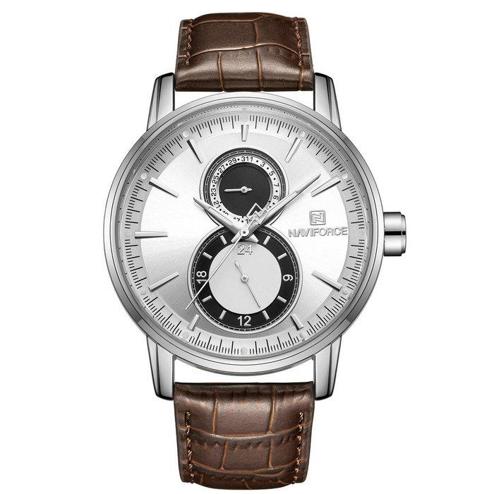 ساعت مچی عقربه ای مردانه نیوی فورس مدل NF3005M / GHA - NO               خرید (⭐️⭐️⭐️)