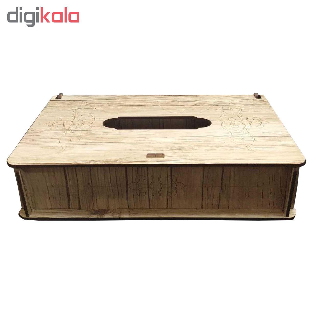 جعبه دستمال کاغذی مدلPd_004