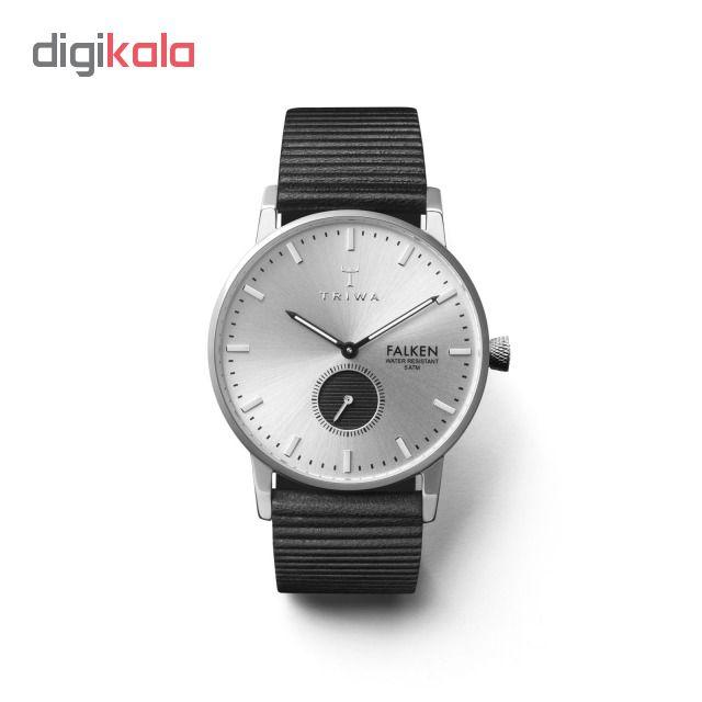 کد تخفیف                                      ساعت مچی عقربه ای تریوا مدل Charles Falken